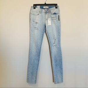 NWT Pacsun Bullhead Black Skinniest Jeans